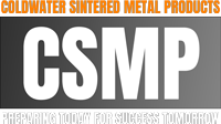Coldwater Sintered Metal Products Logo